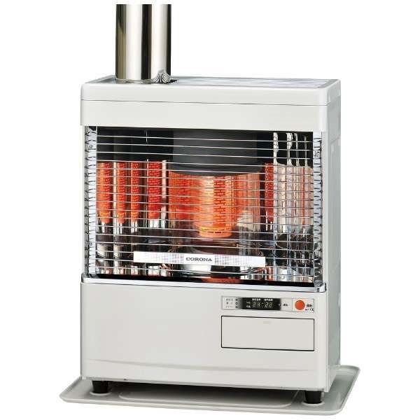 コロナ SV-V4518M-W [ポット式輻射ストーブ(木造:12畳/コンクリート:19畳/別置きタンク式)]