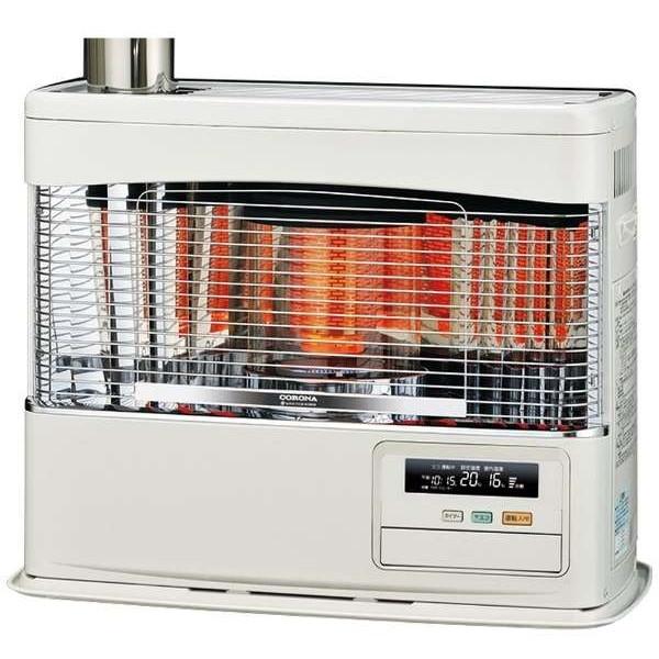 【送料無料】コロナ UH-7718PR-W [ポット式輻射床暖ストーブ(木造:20畳/コンクリート:32畳/別置きタンク式)]