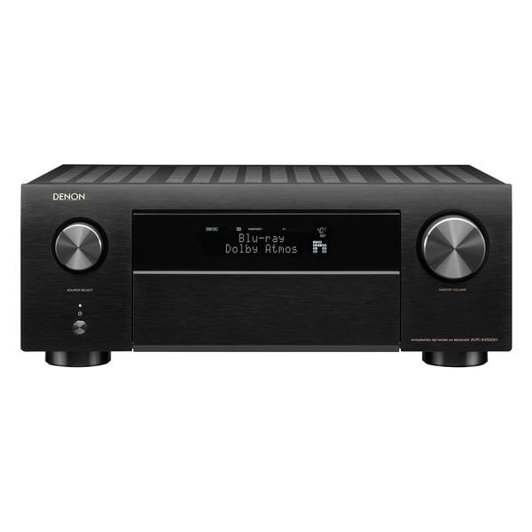 【送料無料】DENON AVR-X4500H-K ブラック [9.2ch AVレシーバー(ハイレゾ音源対応)]