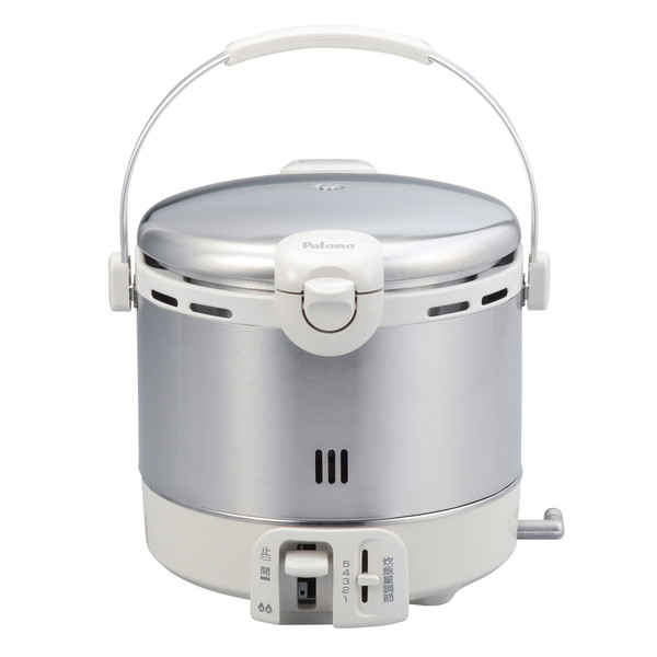 【送料無料】パロマ PR-09EF LP [ガス炊飯器(プロパンガス用・5合炊き) ステンレスタイプ]