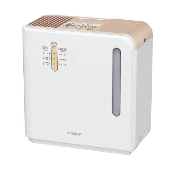 【送料無料】アイリスオーヤマ ARK-700Z-N ゴールド [ハイブリッド式加湿器(木造~12畳/プレハブ洋室~19畳まで)]