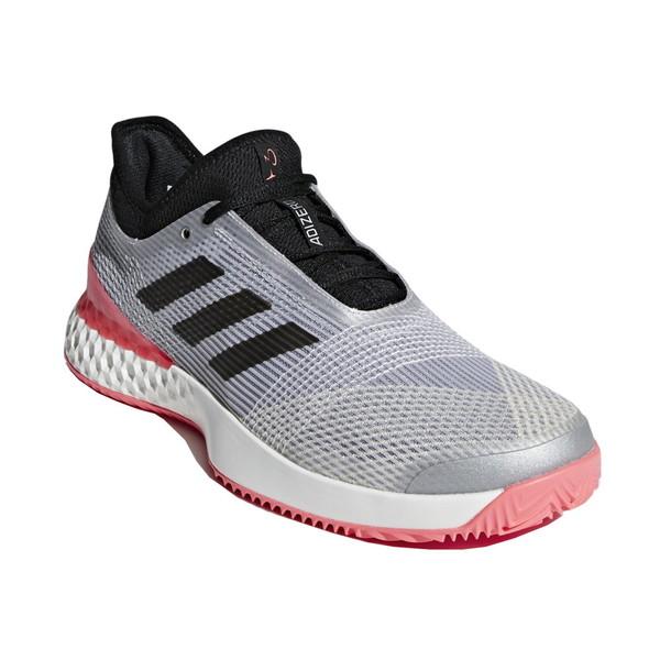 【送料無料】adidas(アディダス) F36722 adidas Tennis UBERSONIC 3 MULTICOURT マットシルバー×コアブラック×フラッシュレッドS15 255