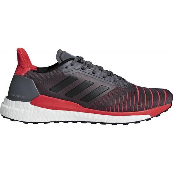 【送料無料】adidas(アディダス) CQ3176 SOLAR GLIDE M グレーファイブF17×コアブラック×ハイレゾレッドS18 265