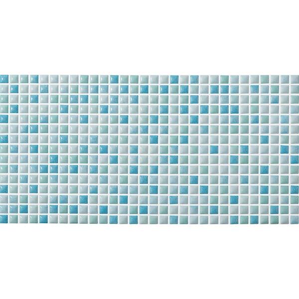 壁紙 シート おしゃれ タイル diy リクシル(LIXIL) SMTS-630/MUS-2 スマートモザイクシート インテリアモザイク ムージャン [リフォーム向けタイル]