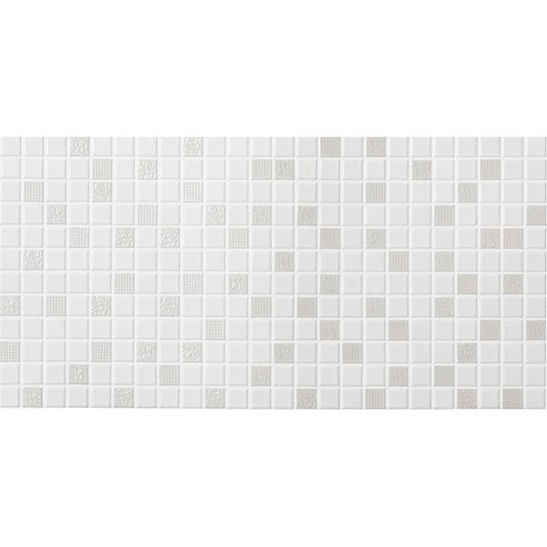 壁紙 タイル シート おしゃれ diy リクシル(LIXIL) SMTS-630/NY-31 スマートモザイクシート インテリアモザイク ニュアンス [リフォーム向けタイル]