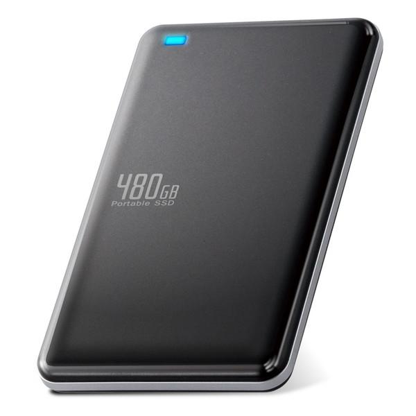 ELECOM ESD-ED0480GBK 外付けSSD ポータブル USB3.1(Gen1)対応 480GB ブラック 【同梱配送不可】【代引き・後払い決済不可】【沖縄・離島配送不可】