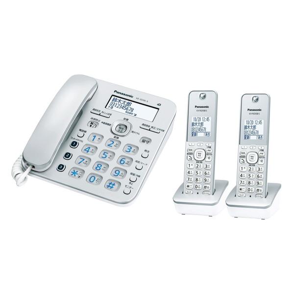 【送料無料】PANASONIC VE-GD36DW-S シルバー RU・RU・RU [デジタルコードレス電話機 子機2台付]