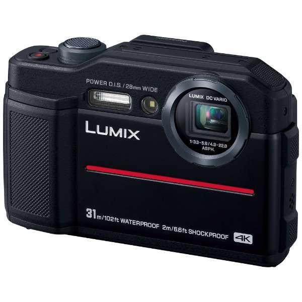 PANASONIC DC-FT7-K ブラック LUMIX(ルミックス) [コンパクトデジタルカメラ (2040万画素)]