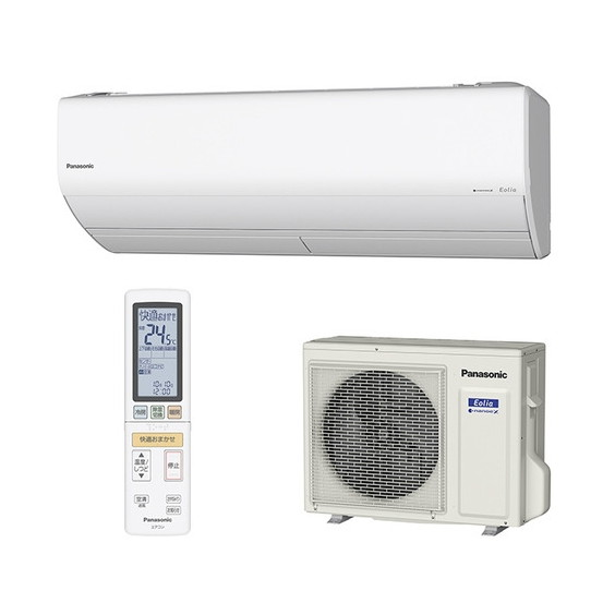 【送料無料】PANASONIC CS-229CX-W クリスタルホワイト エオリア Xシリーズ [エアコン(主に6畳用)]