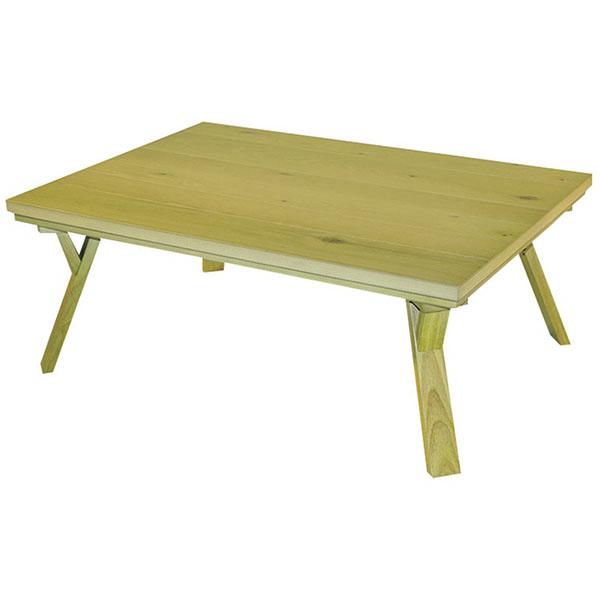 【送料無料】こたつ テーブル 長方形 120 家具調 リビング おしゃれ モダン オークス 120 コタツ (120cm×80cm)