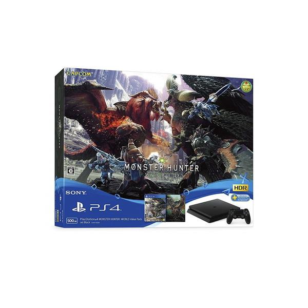 【送料無料】SONY PlayStation 4 MONSTER HUNTER: WORLD Value Pack