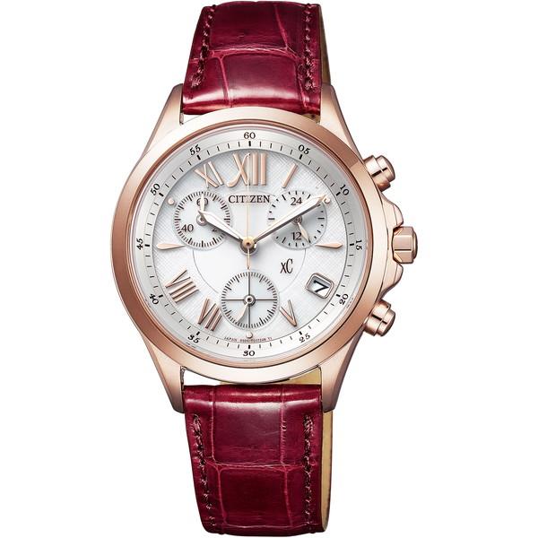CITIZEN(シチズン) FB1405-07A ホワイト×レッド XC(クロスシー) [エコドライブ腕時計 (レディースウオッチ) ]