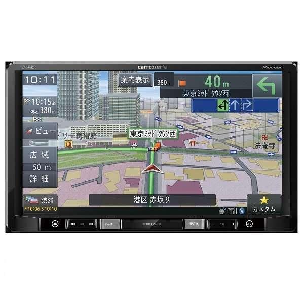 【送料無料】PIONEER AVIC-RQ902 楽ナビ [9V型 ワイドXGA地上デジタルTV DVD-V CD Bluetooth SD AV一体型メモリーナビゲーション]