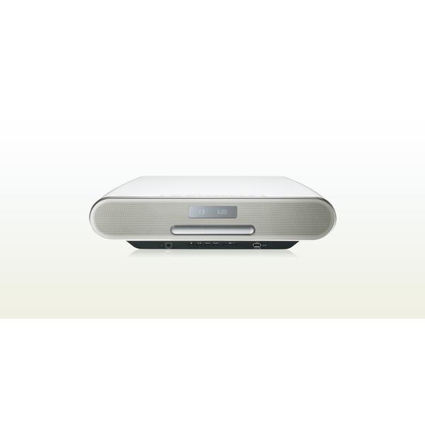 【送料無料】PANASONIC SC-RS60-W ホワイト [ミニコンポ (Bluetooth・ハイレゾ音源対応)]