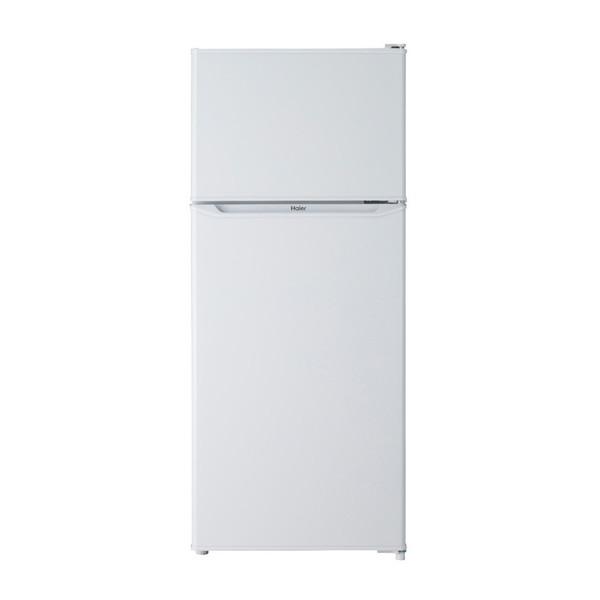【送料無料】冷蔵庫 小型 一人暮らし 新生活 2ドア 130l ハイアール JR-N130A-W ホワイト 冷蔵室自動霜取り 耐熱性能天板 強化ガラストレイ コンパクト スリムボディ