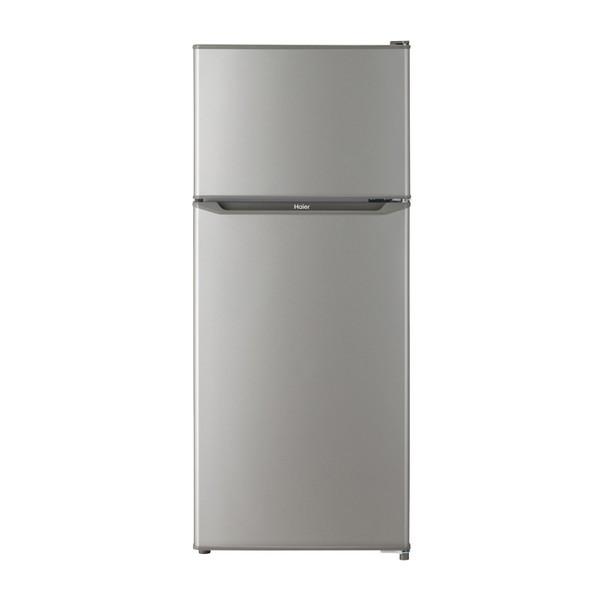 【送料無料】冷蔵庫 小型 一人暮らし 新生活 2ドア 130l ハイアール JR-N130A-S シルバー 冷蔵室自動霜取り 耐熱性能天板 強化ガラストレイ コンパクト スリムボディ
