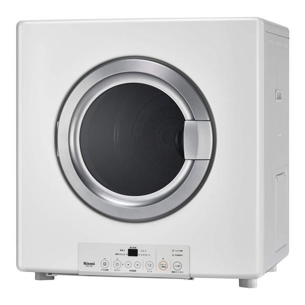 【送料無料】Rinnai RDT-54S-SV-13A ピュアホワイト 乾太くん [ガス衣類乾燥機 (5.0kgタイプ/都市ガス用)]