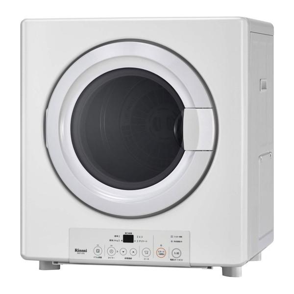 【送料無料】Rinnai RDT-31S-13A ピュアホワイト 乾太くん [ガス衣類乾燥機 (3.0kgタイプ/都市ガス用)]