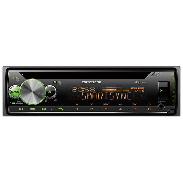 【送料無料】PIONEER DEH-5500 カロッツェリア [CD/Bluetooth/USB/チューナー・DSPメインユニット]