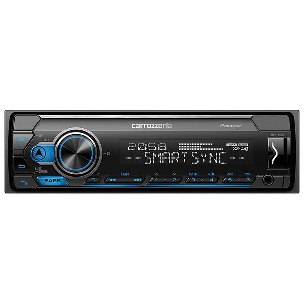【送料無料】PIONEER MVH-5500 カロッツェリア [Bluetooth/USB/チューナー・DSPメインユニット]