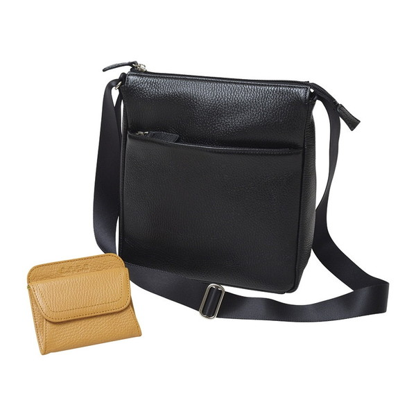 良品工房 牛革ショルダーバッグ&財布セット B114-29