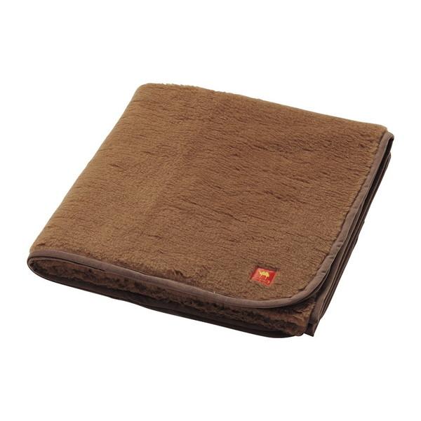 キャメルハイパイル敷毛布(毛羽部分)(袋入)CHP24000
