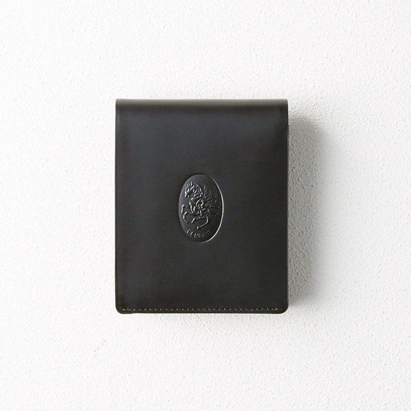 レオナルド・チェンバレ 二つ折れ財布(ブラック) CL3004