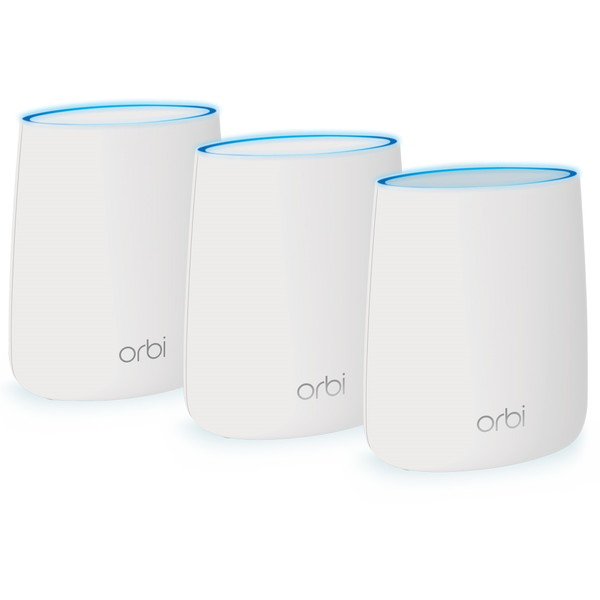 NETGEAR RBK23-100JPS Orbi MicroメッシュWiFiシステム スターターキット [WiFi 無線LANルーター トライバンド 866+866+400Mbps]
