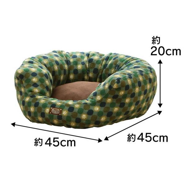 アイリスオーヤマ PSRJ450 ソファベッド 丸型 グリーン