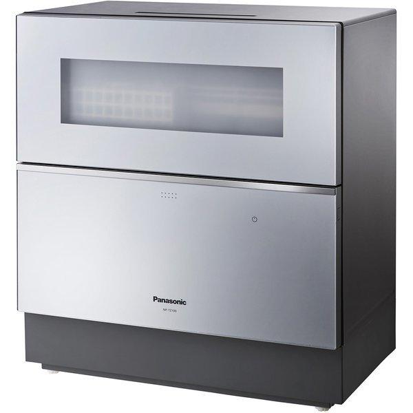 PANASONIC NP-TZ100-S シルバー [食器洗い乾燥機 (5人用・食器点数40点)] 据え置き 食器洗い機 食洗機 ナノイー X ECONAVI エコナビ 取り付け工事対応 安心設置サービスをご確認ください
