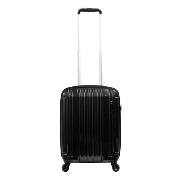 【送料無料】BERMAS EURO CITY LITE ファスナー47c(スーツケース) 60292-10 ブラック 【LCC機内持込対応可】 容量:36L