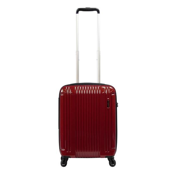 【送料無料】BERMAS EURO CITY LITE ファスナー47c(スーツケース) 60292-30 レッド 【LCC機内持込対応可】 容量:36L