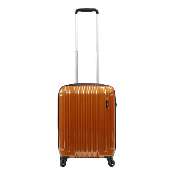 【送料無料】BERMAS EURO CITY LITE ファスナー47c(スーツケース) 60292-34 オレンジ 【LCC機内持込対応可】 容量:36L