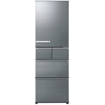 【送料無料】AQUA AQR-SV42H-S チタニウムシルバー [5ドア冷蔵庫(415L・右開き)] 【代引き・後払い決済不可】【離島配送不可】