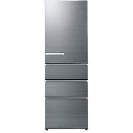 【送料無料】AQUA AQR-SV38H-S チタニウムシルバー [4ドア冷蔵庫(375L・右開き)] 【代引き・後払い決済不可】【離島配送不可】