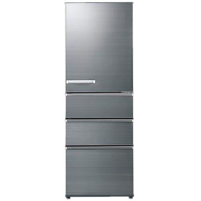 【送料無料】AQUA AQR-SV36H-S チタニウムシルバー [4ドア冷蔵庫(355L・右開き)] 【代引き・後払い決済不可】【離島配送不可】