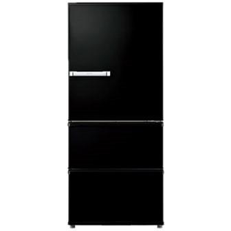 AQUA AQR-SV27H-K ヴィンテージブラック [3ドア冷蔵庫(272L・右開き)] 【代引き・後払い決済不可】【離島配送不可】
