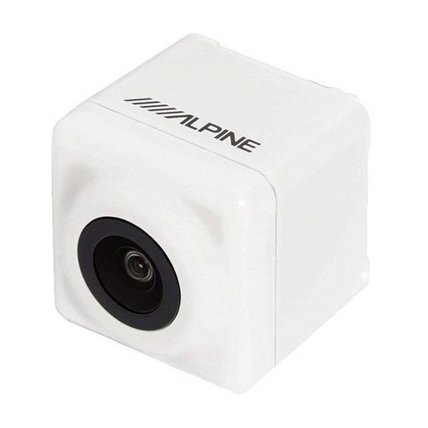 【送料無料】ALPINE HCE-C1000D-PR-W パールホワイト [プリウス専用HDRバックビューカメラパッケージ ]
