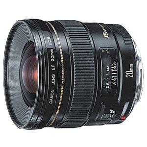 【送料無料】CANON EF20mm F2.8 USM [超広角単焦点レンズ]