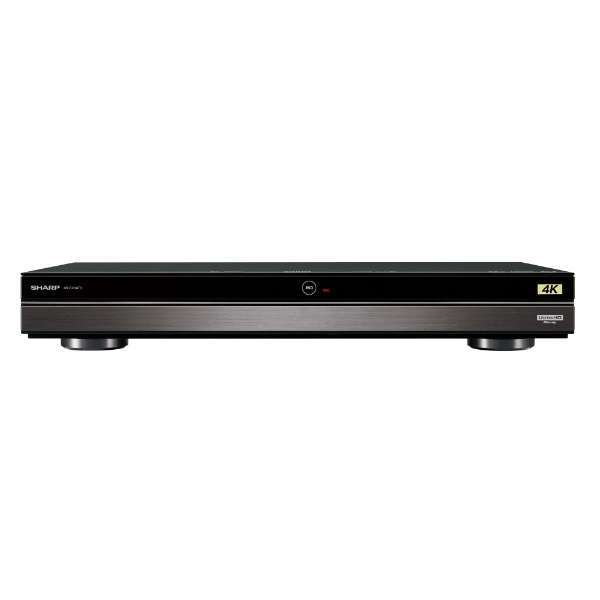 SHARP 4B-C20AT3 AQUOS [ブルーレイレコーダー (HDD2TB・3番組同時録画) 4Kチューナー内蔵/4K Ultra HDブルーレイ再生対応]