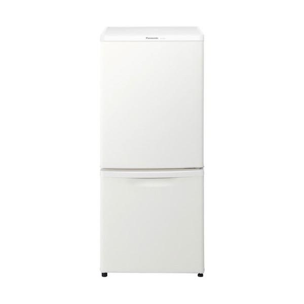 【送料無料】PANASONIC NR-B14BW-W マットバニラホワイト [冷蔵庫(138L・右開き)]