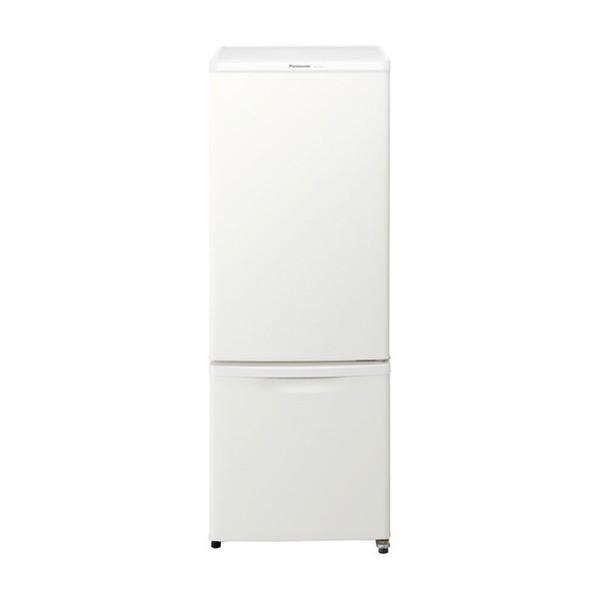 【送料無料】PANASONIC NR-B17BW-W マットバニラホワイト [冷蔵庫(168L・右開き)]