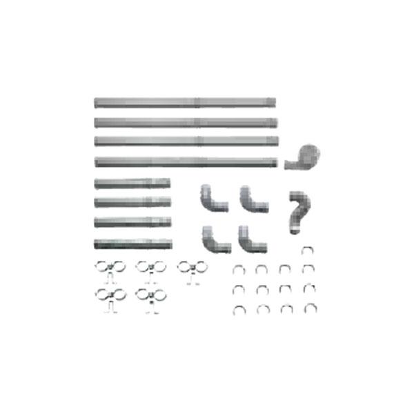 【送料無料】SUNPOT FR-30S4 [FF暖房機・給排気管延長セット(3m延長/ステンレス管使用)]