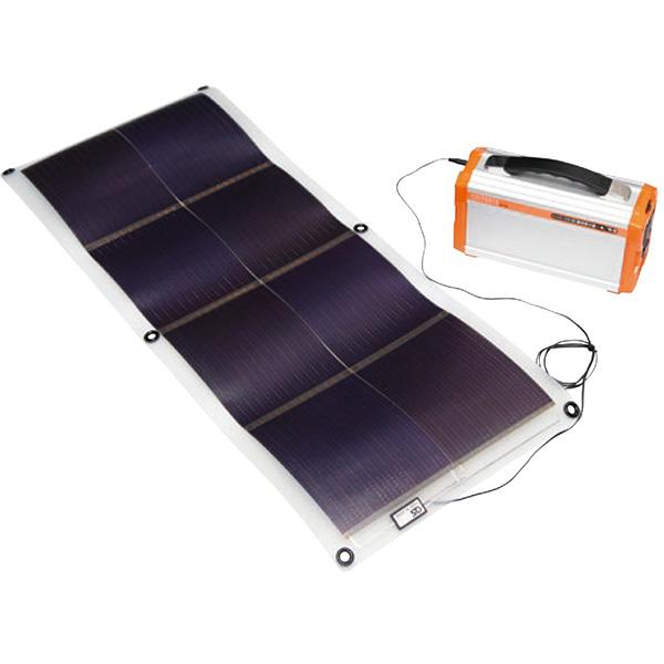 【送料無料】OS GSS-1016B3 16Wソーラーシート AC電源付ポータブルバッテリーセット