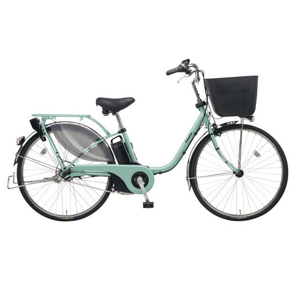 【送料無料】PANASONIC BE-ELE635-G ミスティグリーン ビビ・EX [電動アシスト自転車(26インチ)]【同梱配送不可】【代引き不可】【本州以外配送不可】