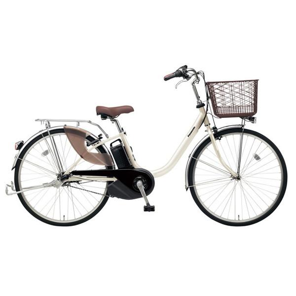 【送料無料】PANASONIC BE-ELL63-S ウォームシルバー ビビ・L [電動アシスト自転車(26インチ)]【同梱配送不可】【代引き不可】【本州以外配送不可】