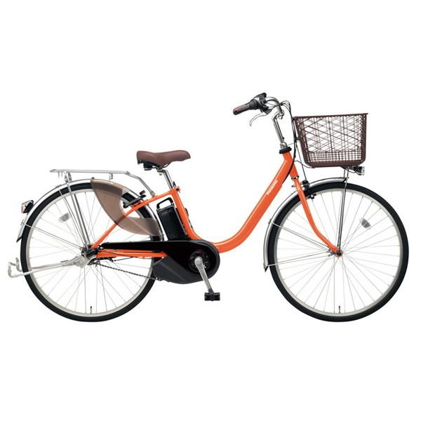 【送料無料】PANASONIC BE-ELL63-K ラセットオレンジ ビビ・L [電動アシスト自転車(26インチ)]【同梱配送不可】【代引き不可】【本州以外配送不可】