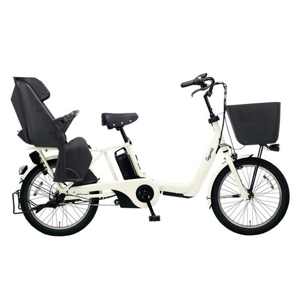 【送料無料】PANASONIC BE-ELAE033-F オフホワイト ギュット・アニーズ・EX [電動アシスト自転車(20インチ)]【同梱配送不可】【代引き不可】【本州以外配送不可】
