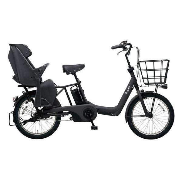 【送料無料】PANASONIC BE-ELAD03-B マットジェットブラック ギュット・アニーズ・DX [電動アシスト自転車(20インチ)]【同梱配送不可】【代引き不可】【本州以外配送不可】