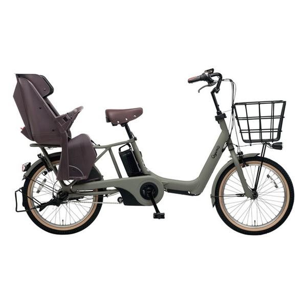 【送料無料】PANASONIC BE-ELAD03-G マットオリーブ ギュット・アニーズ・DX [電動アシスト自転車(20インチ)]【同梱配送不可】【代引き不可】【本州以外配送不可】